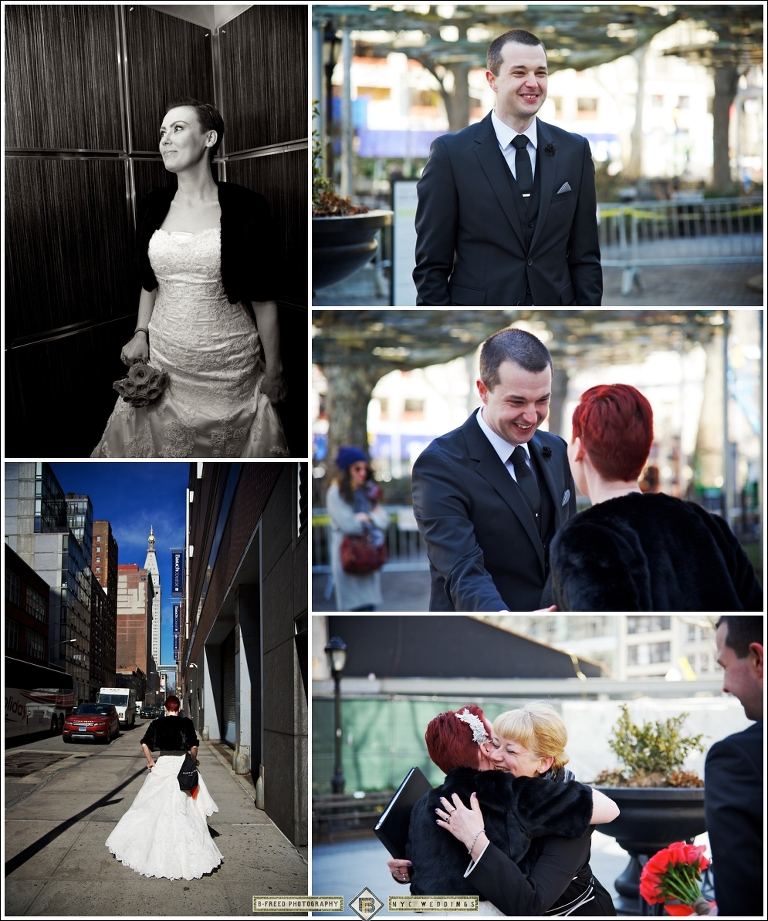 Gillian And Rob's New York City Elopement